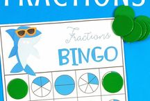 Fractions / Teaching fractions? Here are some fraction ideas, games, activities, anchor charts, math centers and lessons for first, second and third-grade students.