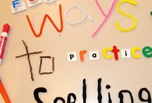 Spelling / Make your spelling lessons fun with hands-on spelling gamesa nd activities for sight words and phonics.