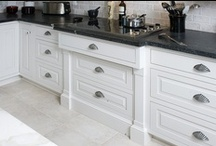 White Cabinetry / The elegant look of white cabinetry might be just what you've been looking for...
