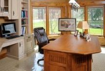 Home Office/Entertainment Spaces