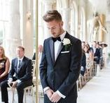 Grooms / He wears it well. Traditional Morning suits, Tweed Jackets, Chino's, Bow ties, Braces & more. Our grooms always look dapper.