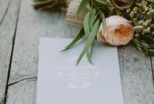 Stationery / It's the invitation that sets the tone.  Get you stationery ideas here; Invitations, RSVPs, Order of Service, Menu, thank you Cards & more....