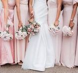 Pink Wedding Colour Palette / Makes the boys wink. Pink Wedding colour scheme