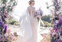 Purple Wedding Colour Palette / Purple lilac wedding colour scheme Vilolet Pantone Color 2018