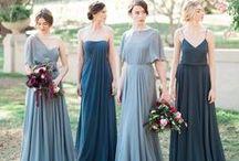 Blue/Navy Wedding Colour Palette / Blue Navy wedding colour scheme