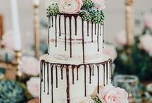 Wedding Cakes and Desserts / Wedding cake ideas and dessert tables for your wedding