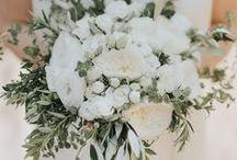 White On White Wedding Colour Palette / Crisp, Clean, Fresh White Colour Scheme