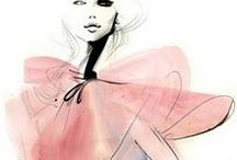 Foxy Fashion Illustrations