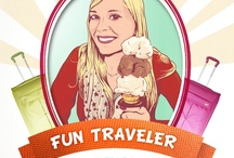 """A.T. Certified Fun Travelers!  / Tell us on Facebook, how do you keep travel fun? You could be selected as an official A.T. Certified Fun Traveler, as each week, our favorite respondents will be featured on our Timeline as a """"Fun Traveler of the Week"""" with a personalized, hand-done portrait of their profile pic! Tell us here: http://www.facebook.com/AmericanTourister/app_110582025784551"""
