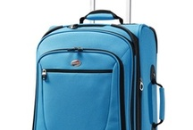 """Packing Spree! Turquoise / For some """"Packing Spree!"""" inspiration, check out our sample pins below! What's """"Packing Spree?"""" It's simple: head to the """"Packing Spree! Contest"""" app on our Facebook page (facebook.com/AmericanTourister), follow the steps, and you could win the bag of your choice, and a $1000 shopping spree! Questions? Tweet us: @AmTourister."""