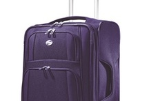 """Packing Spree! Purple / For some """"Packing Spree!"""" inspiration, check out our sample pins below! What's """"Packing Spree?"""" It's simple: head to the """"Packing Spree! Contest"""" app on our Facebook page (facebook.com/AmericanTourister), follow the steps, and you could win the bag of your choice, and a $1000 shopping spree! Questions? Tweet us: @AmTourister."""