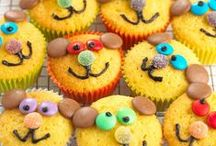 Cute muffins and cupcakes / Whatever their age, children love muffins and cupcakes - even more so with cute decorations and kid-friendly designs! We had a look around the web and gathered our favourite muffins and cupcakes for kids.