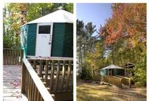 Roofed Accommodations / These are examples of the types of Roofed Accommodations available in Ontario Parks.