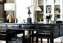 Бюро, или Рабочее пространство / Здесь мы собираем наиболее интересные варианты дизайна и мебели для рабочей зоны в доме.
