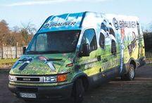 ris reklamy Kołobrzeg oklejanie samochodów dostawczych / zdjęcia oklejanych samochodów dostawczych, więcej na: www.risreklamy.pl
