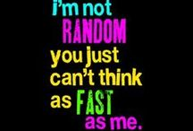 Random / Random stuff