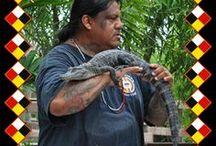 Alligator wrestling(past&nowdays)