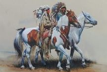 Fine Art: Native Americans(by some of my favorite artists).