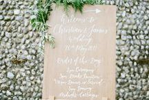 Wedding Signs / Notice boards / we all need a little direction on a wedding day & love a sign so we know our place.