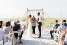 Coastal Wedding / oh we do like to be beside the seaside, walking bare foot in the sand on the gorgeous beach whilst enjoying a cool sea breeze