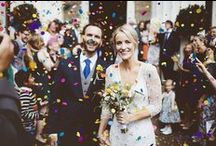 Confetti Exit / Sparkler Send Off / Making a grand entrance or Exit with Confetti & Sparklers