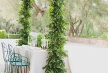 Greenery Wedding Inspiration / Greenery /Foliage Wedding inspiration