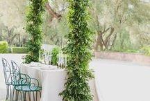 Greenery Wedding Inspiration / Greenery /Foliage Wedding inspiration