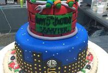 Ninja Turtle Cakes