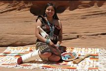 Irene Begay-Navajo Authentic Designs. /  Irene Begay is Tachiinii(Red Running Into the Water Clan) born for Tl`aashchii(Red Cheek People), Dibe Lizhiinii(Black Sheep Clan)- maternal grandparents and Taa`saanii(Clan)-paternal grandparents...a Navajo(Dine` Woman)....started weaving and sewing at the age of 8 years old, by watching over the shoulders' of her Beloved Mother (The Late Nancy Long Johnson)... https://www.facebook.com/NativeTraditionalOutfits