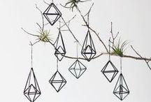 Geometric Wedding Inspiration / Geometric Shapes Decor Contemporary Wedding