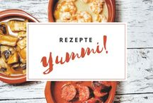 REZEPTE / Gesund & lecker! Diese Rezepte sind einfach genial. <3 Die Kombination aus vegan, mit Fleisch und vegetarisch - perfekt für einen gesunden, ausgewogenen Lebensstil.