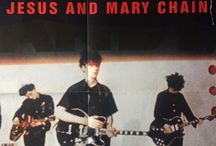 The Jesus And Mary Chain / My personal collection of memorabilia dedicated to The Jesus And Mary Chain