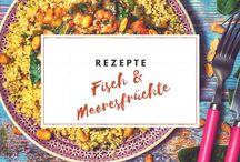 Rezepte | Fisch & Meeresfrüchte / Fisch & Meeresfrüchte Rezept: Egal ob Garnelen, Jakobsmuscheln, Kabeljau, Lachs, Zander, und mehr!