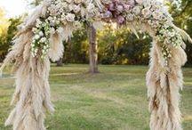 Pampas Wedding Inspiration / Pampas Grass Wedding Inspiration #pampasgrass