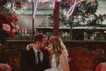 Neon Light Wedding Inspiration / Neon Lights | Neon Signs | Personalised Neon Signs | Neon Quotes | Wedding Lighting | Wedding Trends