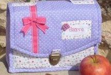 Patrons de sacs, pochettes, tabliers.... truc DiY / Faire de la couture facile , pas chère et jolie!!!!  / by Clarissa Leloup