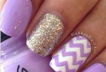 nails / I like fashion and things like that