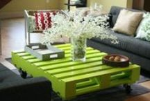 Recycled Pallets / Great ideas for repurposing old pallets