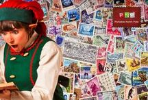 PNP - Leena's Stamp Collection / Leena the Postationist Elf loves collecting the stamps she saves from all the letters she sorts at the Santa's Village Post Office.