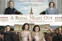 A Royal Night Out / 'A Royal Night Out' movie, release May 2015 (UK). Directed by Julian Jarrold, illustrates the story of Princess Margaret and Princess Elizabeth (future Queen); both allowed out at night in London for the first time, to join the celebrations marking the end of WWII, on 8 May 1945. Movie release: May 2015 (UK). BelMal Malletier provided props (trunks, valises, hatcases,...) for some movie scenes that took place in Belgium (Hotel Metropole, Brussels).