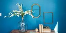 Decorating and Interior Design / What's Trending in 2017 with Paint Colors, home décor, food, Home design, Furniture, Window Treatments