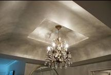 Painted Ceilings / Cool ceilings!  Faux finish and decorative painted ceilings -- all great home decorating ideas for the DIY