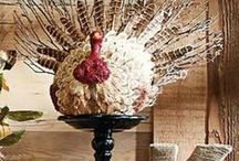 Thanksgiving Decor / Decorating Ideas fro thanks ginving