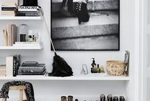 Bedroom / Nothing Short Of Chic | Inspiration for new bedroom, combining my biggest aesthetic influences: the romantic chicness of Parisian interiors; the glamour of Old Hollywood dressing rooms; and the clean, modern feel of Scandinavian decorating.