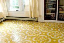 Painted Floors / Beautiful Painted floors of every kind