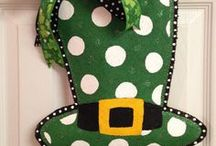 Saint Patrick's Day / Tons of great craft ideas for kids and party decor