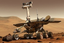 Curiosity's BFF Oppy (Opportunity) / Going for almost a decade, this little rover proves the children's story, The Little Engine That Could. Oppy is the longest running planetary rover to date. Will Curiosity win through? Well, at least she's not alone.