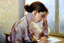 portrait painting / by Jingfen Hwu