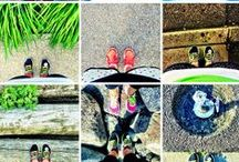 """love running / We love running. Nike said it best, """"The roads are always open."""""""