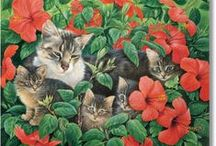Lesley Anne Ivory / Cats
